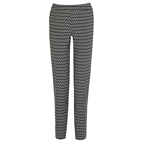 Buy Coast Bethy Trousers, Mono Online at johnlewis.com