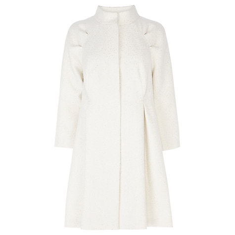 Buy Coast Rodita Coat, Ivory Online at johnlewis.com