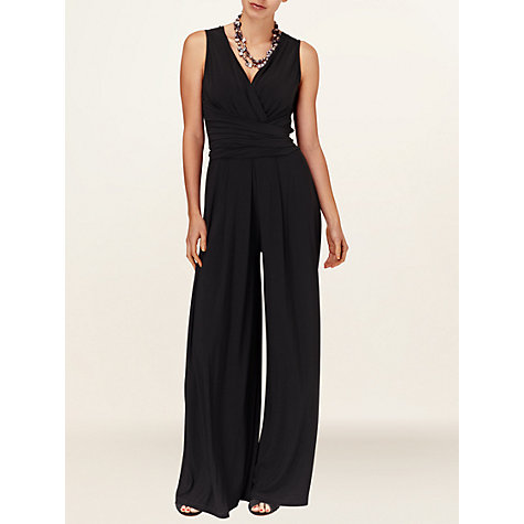 Buy Phase Eight Joanna Jumpsuit, Black Online at johnlewis.com