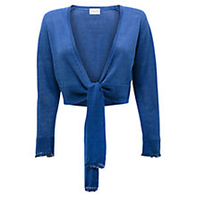 Buy East Beaded Shrug, Blue Online at johnlewis.com