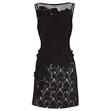 Buy Coast Cecile Dress, Black Online at johnlewis.com
