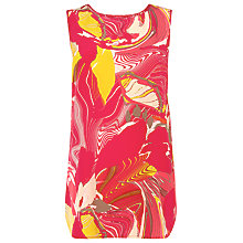 Buy L.K. Bennett Babol Tank Top, Multi Red Online at johnlewis.com