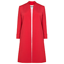 Buy L.K. Bennett Mason Event Coat, Raspberry Pink Online at johnlewis.com