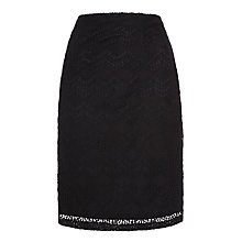 Buy Somerset by Alice Temperley Lace Pencil Skirt, Black Online at johnlewis.com