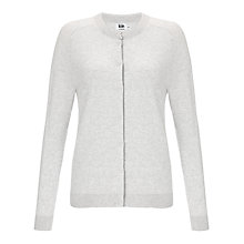 Buy Kin by John Lewis Cotton Cardigan, Lunar Rock Online at johnlewis.com
