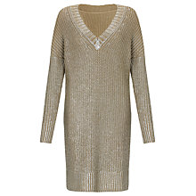 Buy Somerset by Alice Temperley Foil Print Tunic Top Online at johnlewis.com