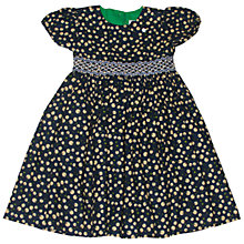 Buy Question Everything Girls' Lola Cord Cherry Dress, Navy Online at johnlewis.com
