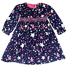 Buy Question Everything Girls' Nova Star Dress, Blue Online at johnlewis.com