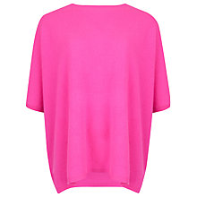 Buy Ted Baker Azami Cashmere Jumper, Fuchsia Online at johnlewis.com