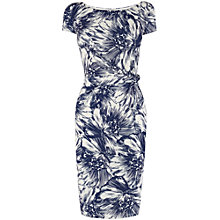 Buy Phase Eight Printed Nicky Dress, Navy/Ivory Online at johnlewis.com