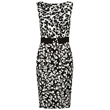 Buy Hobbs Olivia Dress, Black/Ivory Online at johnlewis.com