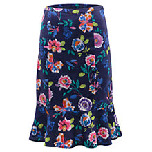 Buy East Victoire Juno Print Skirt, Atlantic Blue Online at johnlewis.com