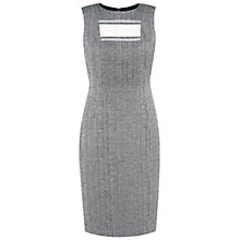 Buy Hobbs Susannah Dress, Black/Ivory Online at johnlewis.com