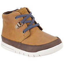 Buy Clarks Children's Crazy Doc Boots, Brown Online at johnlewis.com