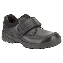 Buy Clarks Tam Go Leather Shoes, Black Online at johnlewis.com