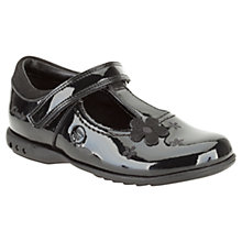 Buy Clarks Trixie Joy Patent Leather Shoes, Black Online at johnlewis.com