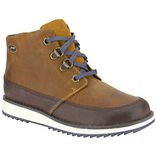 Buy Clarks Children's Fleet Up GORE-TEX® Boots, Brown Online at johnlewis.com
