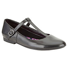 Buy Clarks Childrens' Olivia Star Shoes, Black Online at johnlewis.com