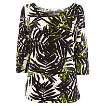 Buy Wishbone Layla Print T-Shirt, Multi Online at johnlewis.com