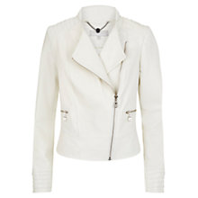 Buy Fenn Wright Manson Mian Leather Biker Jacket Online at johnlewis.com