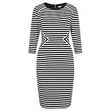 Buy Fenn Wright Manson Beatrice Stripe Dress, Black/White Online at johnlewis.com