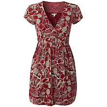 Buy White Stuff Sunny Love Spectacle Print Tunic, Dark Rouge Online at johnlewis.com