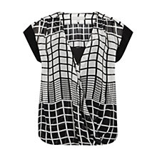 Buy Fenn Wright Manson Perri Silk Top, Black/White Online at johnlewis.com