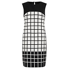 Buy Fenn Wright Manson Aysha Silk Dress, Black/White Online at johnlewis.com