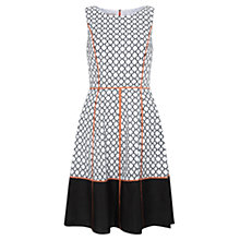 Buy Fenn Wright Manson Ashleigh Embroidered Dress, Black/White Online at johnlewis.com