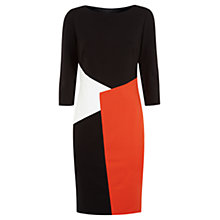 Buy Fenn Wright Manson Paloma Colour Block Dress, Black Online at johnlewis.com