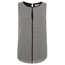 Buy Fenn Wright Manson Rianna Silk Top, Black/Chalk Online at johnlewis.com