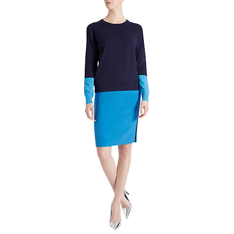 Buy Fenn Wright Manson Kelici Pencil Skirt, Malibu Blue Online at johnlewis.com