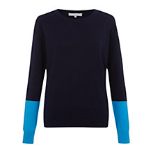 Buy Fenn Wright Manson Martina Jumper, Navy Online at johnlewis.com