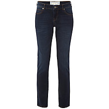 Buy White Stuff Abigail Straight Leg Jeans, Authentic Dark Online at johnlewis.com
