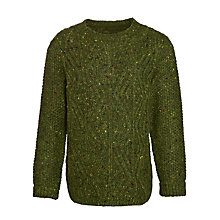 Buy John Lewis Boy Cable Knit Crew Neck Jumper Online at johnlewis.com