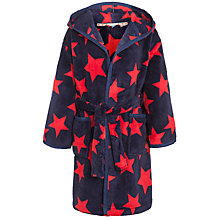 Buy John Lewis Boy Star Print Fleece Robe Online at johnlewis.com