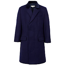 Buy John Lewis Heirloom Collection Boys' Coat, Navy Online at johnlewis.com