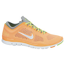Buy Nike Women's Free 5.0 TR Fit 4 Cross Trainers, Orange Online at johnlewis.com
