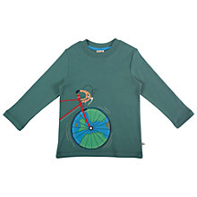 Buy Frugi Discovery Appliqué Top, Spruce Online at johnlewis.com