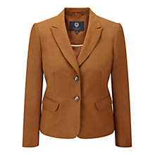 Buy Viyella Petite Silk Linen Jacket, Cinnamon Online at johnlewis.com