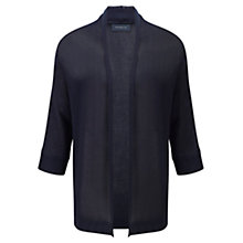 Buy Viyella Buttonless Batwing Cardigan, Indigo Online at johnlewis.com