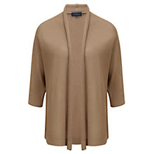 Buy Viyella Gauzy Batwing Cardigan, Natural Online at johnlewis.com