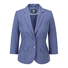 Buy Viyella Chambray Linen Jacket, Chambray Online at johnlewis.com