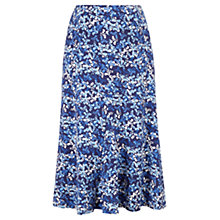 Buy Viyella Floral Jersey Skirt, Ink Online at johnlewis.com
