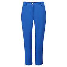 Buy Viyella Delph Cotton Capri Trousers, Delph Blue Online at johnlewis.com