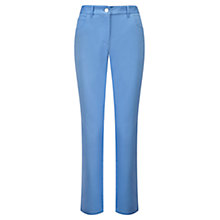 Buy Viyella Cotton Capri Jeans, Sky Online at johnlewis.com