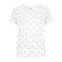 Buy NW3 by Hobbs Yasmine T-Shirt, White Online at johnlewis.com