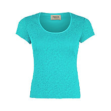 Buy Precis Petite Floral Lace Top Online at johnlewis.com