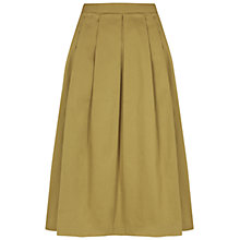 Buy NW3 by Hobbs Lisa Skirt, Golden Yellow Online at johnlewis.com