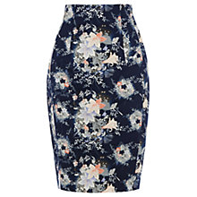 Buy Oasis Oriental Skirt, Multi Blue Online at johnlewis.com